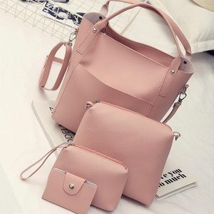 4pc handbag set